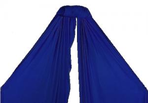 Aerial Silk 8m electric blue