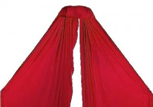 Aerial Silk 8m red